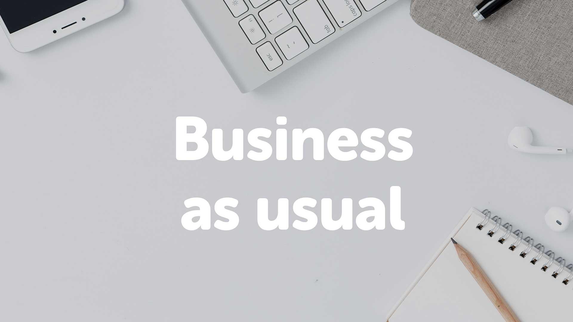 Business as usual | Grimsbymoneyman