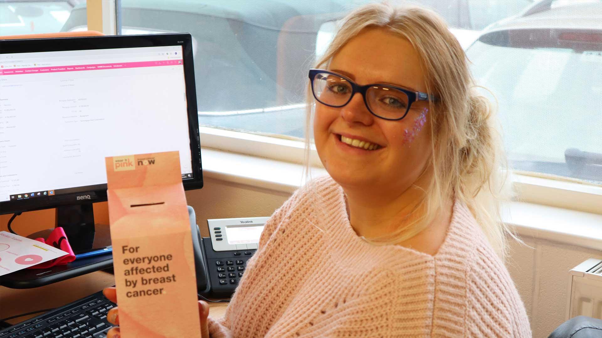Wear it Pink at Grimsbymoneyman | Mortgage Broker